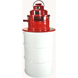 Janitorial And Maintenance Floor Care Machines And Vacuums Vacuums Hepa - B287013 - Pullman-holt Hepa Vac Drum Adapter 2 Hp B287013