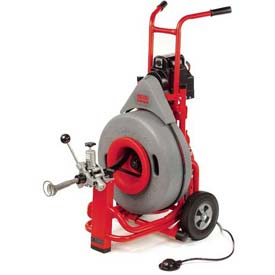"""Plumbing And Pumps Plumbing Tools And Equipment Drainpipe Cleaning Machines - B861670 - Ridgid K-7500 Drum Machine With Pigtail &amp Standard Accessories; 5/8""""l; 115v; 4/10hp; 200rpm B861670"""