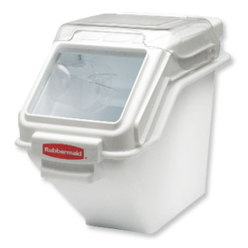 Foodservice And Appliances Commercial Appliances Steamers Commercial Steamers - B56184 - Rubbermaid Commercial Fg9g5700wht-prosave Storage Ingredient Bin; 100 Cup Capacity B56184