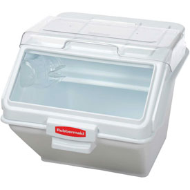 Foodservice And Appliances Commercial Appliances Steamers Commercial Steamers - B56185 - Rubbermaid Commercial Fg9g5800wht-prosave Storage Ingredient Bin. 200 Cup Capacity B56185