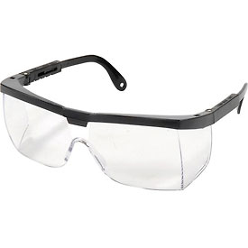 Vehicle Safety & Security Motorcycle Protective Gear Eye Protection Safety Glasses - Half Frame - 921924 - Spartan Spectacle Black/clear; A200 921924