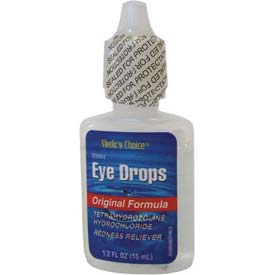 Safety And Security Eyewash Stations And Showers Personal Eyewash Bottles And Stations - B811424 - Tetrasine Eye Drops; 1/2 Oz.; 1 Ea.-pkg Qty 2 B811424