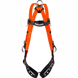 Safety And Security Fall Protection Harnesses - B313195 - Titan Ii By Honeywell T4507/uak; Non-stretch Full-body Harnesses B313195