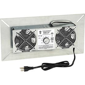 Hvacr And Fans Exhaust Fans And Ventilation Whole House Fans - B589581 - Tjernlund V2d-crawl Space Ventilator Deluxe (220 Cfm) B589581