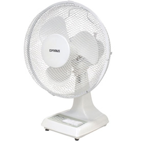 "Storage And Shelving Modular Inplant Offices Cleanroom Offices - 248458 - Tpi 12"" Oscillating Desk Fan Odf-12 1200 Cfm 248458"