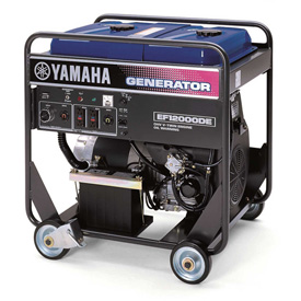 Electrical And Lighting Generators Portable Generators - 702184 - Yamaha Ef12000dey Portable Generator 12000 Watt Twin-cyl 653cc Ohv Electric Start Gas Carb Compliant 702184