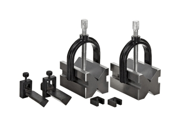 Tools Tool Clamps And Vises Workholding V-blocks - Bs599-749-100 - Brown & Sharpe Ultra Wee V-block Set BS599-749-100