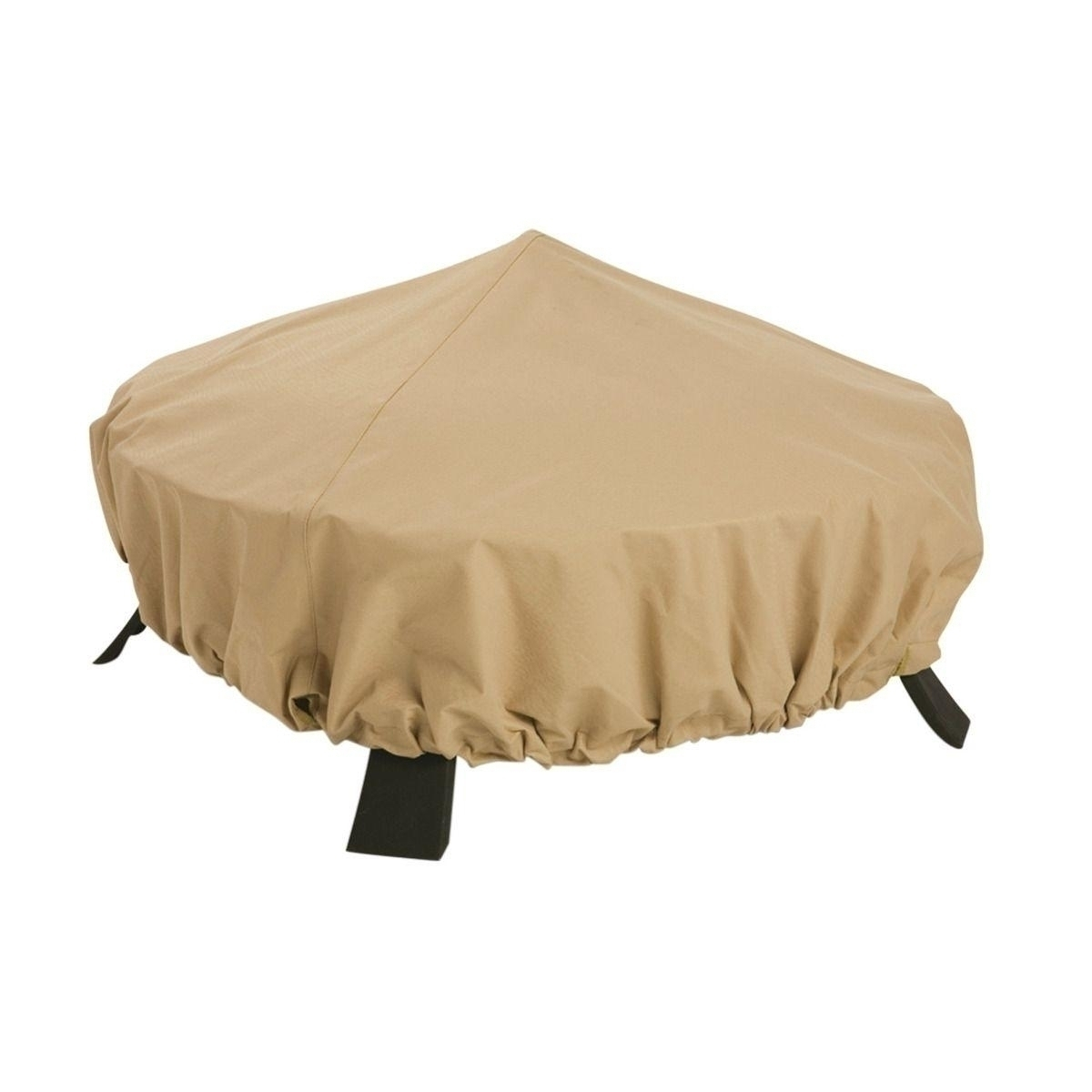 Firepit Cover - Full Coverage Sand - 30inch - 10cs - 59922-ec - Outdoor Living 59922-EC