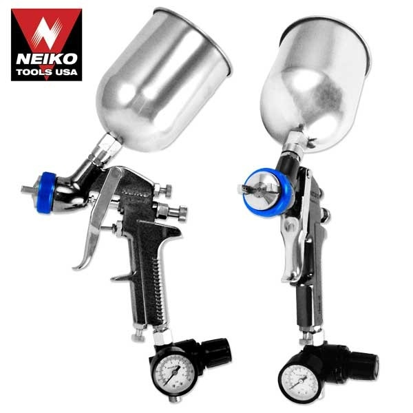 1.3mm Hvlp Gravity Feed Air Spray Gun W/ Gauge-nk - 31213a - Specials New Arrivals 31213A