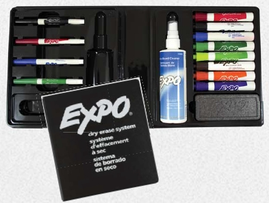 Expo Dry Erase Marker Kit - 83054 - Office & School Supplies Pens & Pencils & Markers Highlighters And Markers 83054